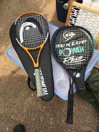Carbon tennis rackets great condition only 15 each FIRM  Glen Burnie, 21061
