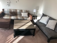 Comfortable sofa in my apartment use one year Shippensburg