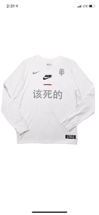 TDE x Nike crewneck white  Thousand Oaks, 91320