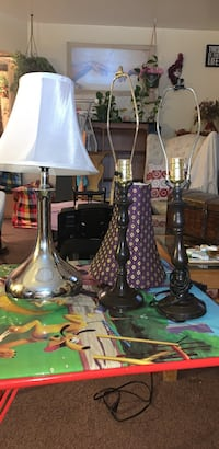3 lamps and 2 shades  New York, 11236