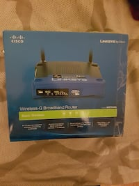 Linksys WRT54GL Wi-Fi Wireless-G Broadband 4 PORT Cable/DSL Route Toronto