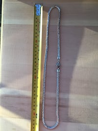 Custom 925 silver men's chain New Westminster, V3M 1X9