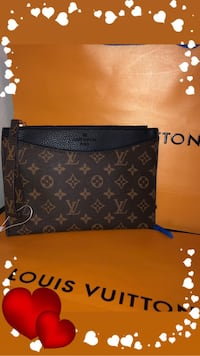 black and brown Louis Vuitton monogram leather crossbody bag South Amboy, 08879