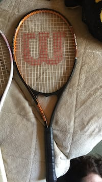 Black and orange wilson tennis racket titanium xl great condition Myrtle Beach, 29572