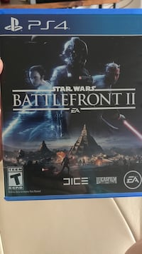 Sony ps4 star wars battlefront game