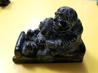 black and gray ceramic figurine Edmonton, T5T 0W5