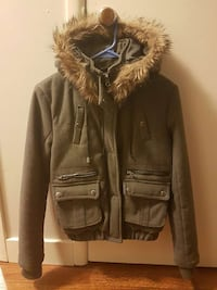 brown parka Surrey, V3R 1G6
