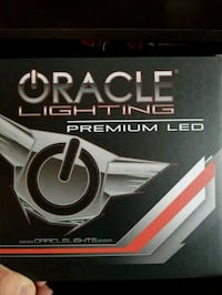Oracle surface mounted halo lights