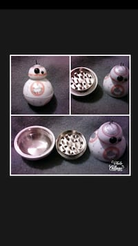 BB-8 from Star Wars figure collage