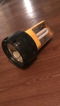 black and yellow flashlight Sparks, 89431