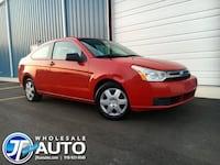 2008 Ford Focus 2dr CPE S* CARFAX *One Owner!!**Excellent MPG * Routine Maintenance *150k miles *Smooth Ride *No Check Eng. No Error Codes. *No Payments