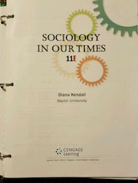 Introduction to Sociology loose leaf in binder