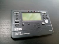 Korg TM-50 Instrument Tuner and Metronome w/Clip