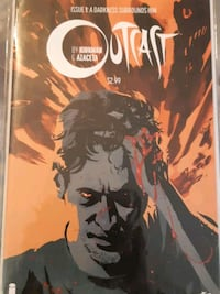 Outcast Comics issues 1-3