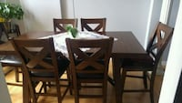 Adara  7 dining table package with crossbackchairs Toronto, M9V 5E6