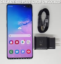 Galaxy S10 Plus (128GB) Factory-UNLOCKED (Like-New) Arlington, 22204