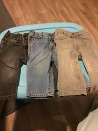 3 pairs of jeans size 12 months boys Welland