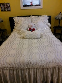 Custom made Bedding Set.