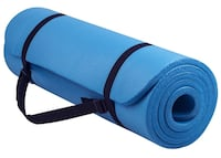 BalanceFrom GoYoga All-Purpose Anti-Tear Yoga Mat with Carrying Strap , 02145