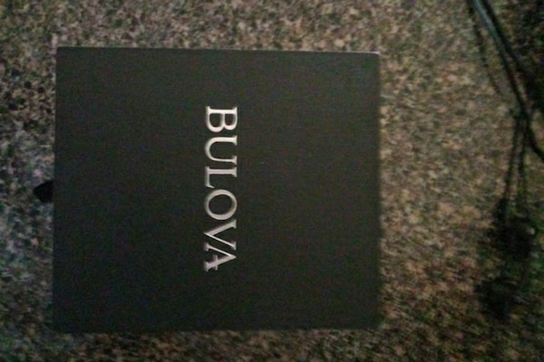 60de90503dc Used I have a Bulova watch it's new I worn it a couple for sale in ...