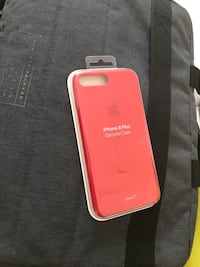 Apple Product Red iPhone 7/8 Plus orijinal silikon kılıf