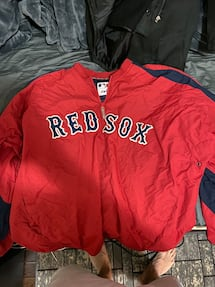 Authentic Red Sox Jacket XXL.