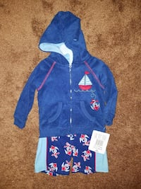 New 6-9 Months Swimming Trunks/Terry Cloth Jacket Beckley, 25801