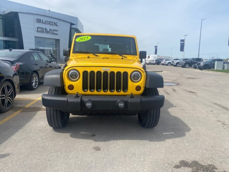 2015 Jeep Wrangler Sport 4WD | Aftermarket Headlights & Remote Start 8bca3aff-8ab4-4a85-9de8-76dffff2a33c