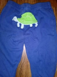 blue and green crew-neck shirt and pants El Paso, 79925