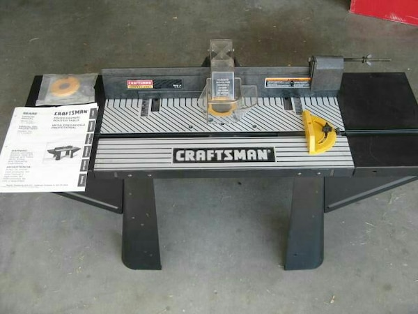 used craftsman professional router table (#25483) for sale in hemet ...