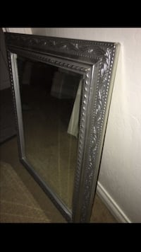 gray embossed frame wall mirror Bakersfield