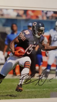 Signed Brandon Marshall Picture null