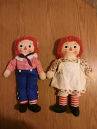 Anne and Andy ruggady dolls