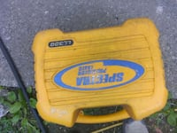 yellow and blue plastic container Coquitlam, V3J 1P8