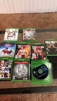 Xbox one games & controller High Point, 27265