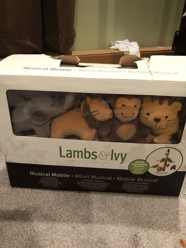 Used Lambs & Ivy Musical Mobile - Safari Express for sale in ...