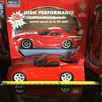 Nikko New Dodge Viper GTSR RC Car Body 7.2 v Radio Controlled Toronto, M1V