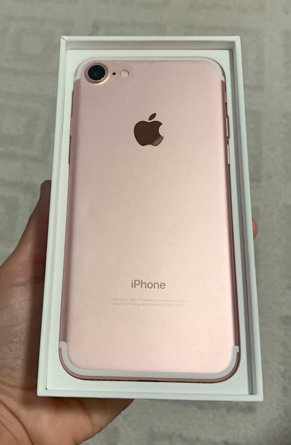 iPhone 7 (rose gold) 958a6abc-4847-49c3-8f6d-ee05729801b7