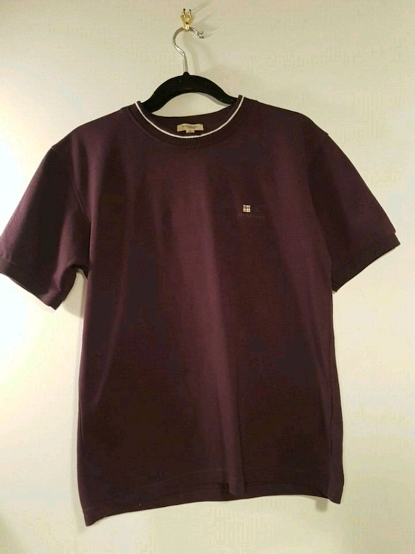 Burberry polo shirt fabric size M