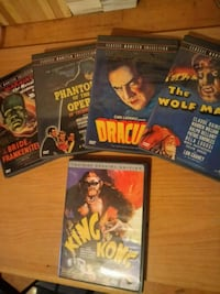 Classic monster collection dvds  Toronto, M6P 2X8