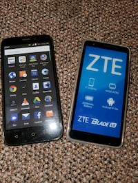 Brand new never used ZTE smartphones both for 150!! Obo no trades  Baltimore, 21214