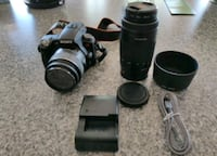 Sony a 55 Camera with accessories
