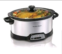 Hamilton beach - slow cooker, programmable, 7quart McLean, 22102