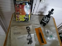 black Microscope and projector with box Augusta, 30906