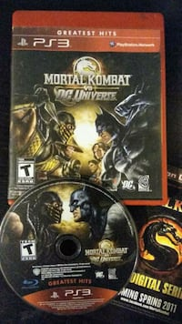 Mortal Kombat vs DC Universe Sony Playstation 3