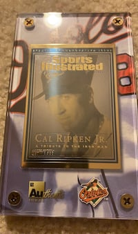Cal Ripken commemorative gold card