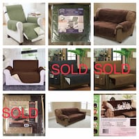 New!! Recliner, love seat and sofa covers  St Thomas, N5R 6M6