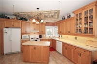 Solid wood kitchen cabinets Newmarket
