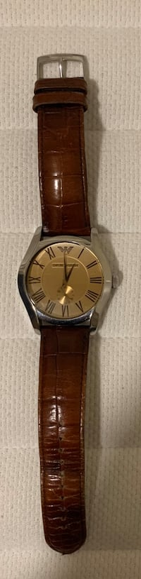 Emporio Armani watch in great condition  Toronto, M2J 2C7