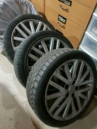 """18"""" speed 6 rims with tires Kitchener, N2M 5P6"""